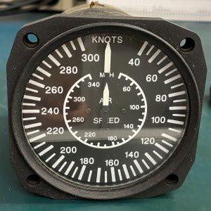 Airspeed Indicator 16-311-300D, U.M.A Inc.
