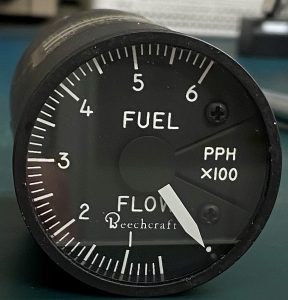 (Q1) Fuel Flow Indicator, Gull