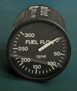 (Q1)  Fuel Flow Indicator, Foxboro