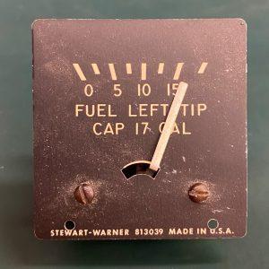 (Q2) Cluster Fuel Quantity Indicator, Stewart-Warner