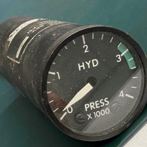 (Q13) Hydraulic Pressure Gauge, 4358-1010, Insco