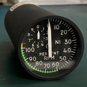 (Q8) N1 Percent RPM Indicator, 8DJ81CDX, I/N-80-90, General Electric