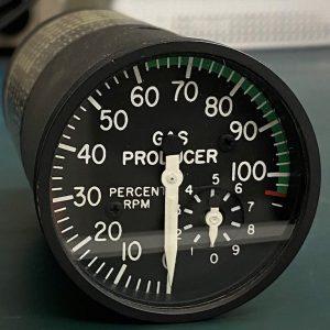 (Q8) Gas Producer Percent RPM Indicator, 206-767-6040, General Electric