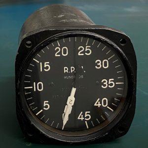 (Q8) Dual indicator tachometer, AN5530-212, Fridden