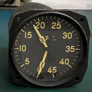 (Q8) Dual indicator tachometer, AN5530-2-12, Chicago Flexible Shaft Co.