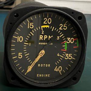 (Q8) Dual Indicator tachometer, RE-2