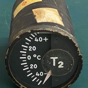 (Q13) T2 Temperature Gauge, MS28008-2, 147830D, The Lewis Engrg.Co