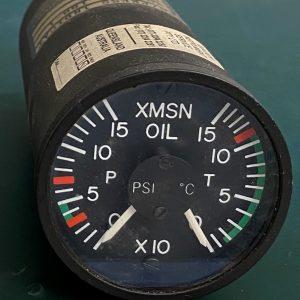 (Q13) Oil Temperature & Pressure Gauge, 206-075-188-1, 9009-3004, Insco