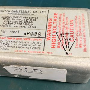 (Q11) Strobe Light Power Supply, A490.T-DF-M-28, 481-184, Whelen Engineering