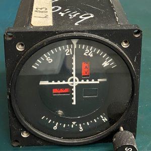 (Q6) Course Selector Indicator, 520-5160-006, Aeronetics