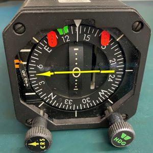 (Q6) Horizontal Situation Indicator, 400172, IN-831A, Bendix Avionics