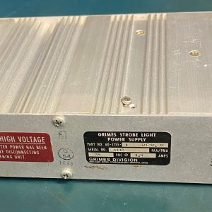 (Q11) Strobe Light Power Supply, 60-1755, Grimes Division