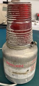 (Q11) Strobe Light Beacon, DF-28, Whelen Engineering