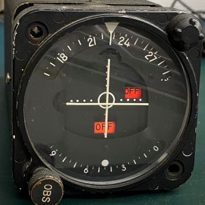 (Q6) Converter Indicator, 41640-2000, Aircraft Radio Corp.