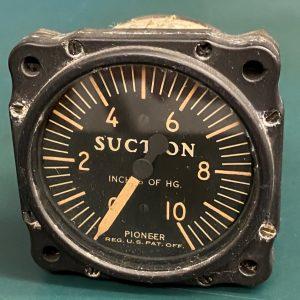 (Q15) Suction Gauge, 2601-1A-B1-7049, Bendix