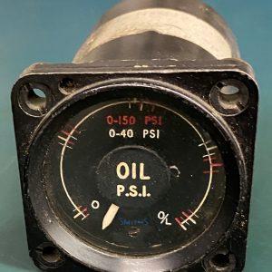 (Q13) Oil Pressure Gauge, Smiths