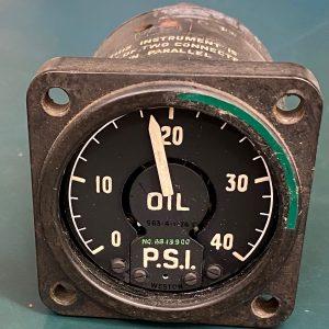(Q13) Oil Pressure Gauge, 8813900, Weston