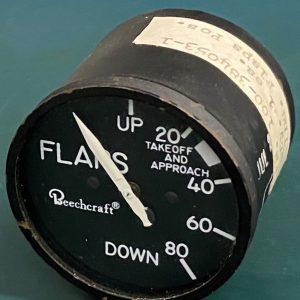(Q16) Flap Position Indicator, 100-384053-1, 557-1, Instruments Inc.