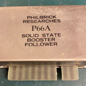 (Q14) Solid State Booster Follower, P66A, Philbrick Researches