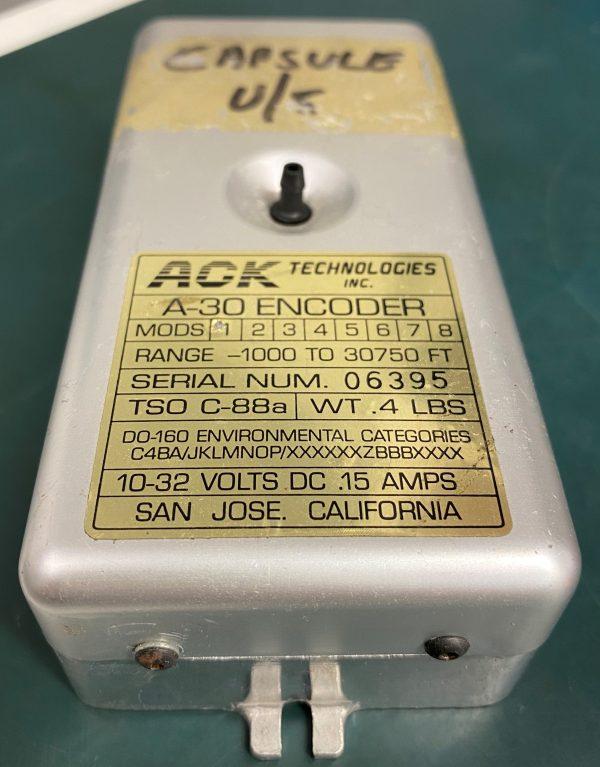 (Q17) Encoder, A-30, ACK Technologies