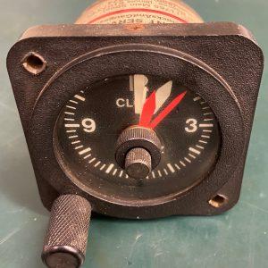 (Q15) 12Volt Clock, CK-7264-12, Instrument Services Inc.