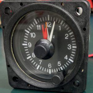 (Q15) Aircraft Clock, D1-312-5038, 99500-ELT, Mitchell
