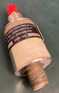 (Q19) Pressure Switch, 211C119-97, Consolidated Controls Corp.