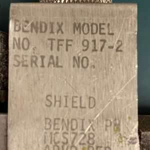 (Q18) Fuel Flow Transmitter, TFF-917-2, Bendix