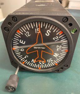 Q29) Directional Gyroscope, 1U262-001-39,Model 40008-30, Sigma Tek