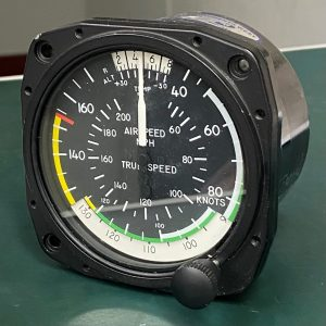 (QS2) Airspeed Indicator, 8100B261, Mid-Continent Instruments West