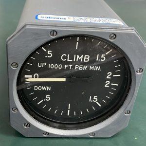 (Q12) Vertical Speed Indicator, RC-20-1LB, Aerosonic Corporation