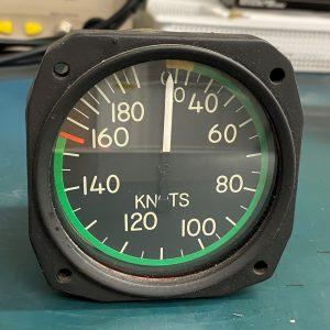 Airspeed Indicator 8502C-S20LW
