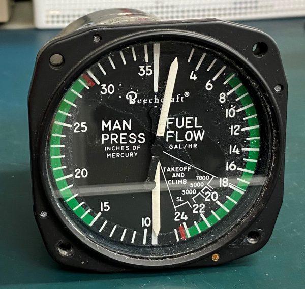 (Q1) Manifold Fuel Flow 6534H.114, United Instruments