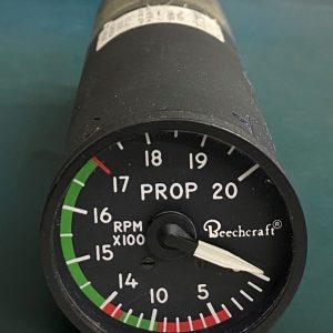 (Q8) Propeller RPM Indicator, 114-380064-5, 55002-004, B&D Instruments & Avionics