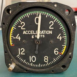 (Q12) Accelerometer, 10-101-3, Kollsman Instrument Corporation