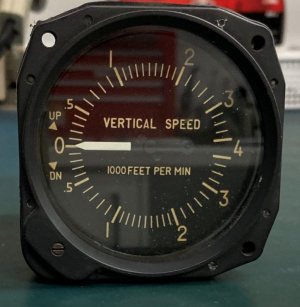 (Q12) Vertical Speed Indicator (VSI), IFR33-40, Instruments & Flight Reasearch Inc