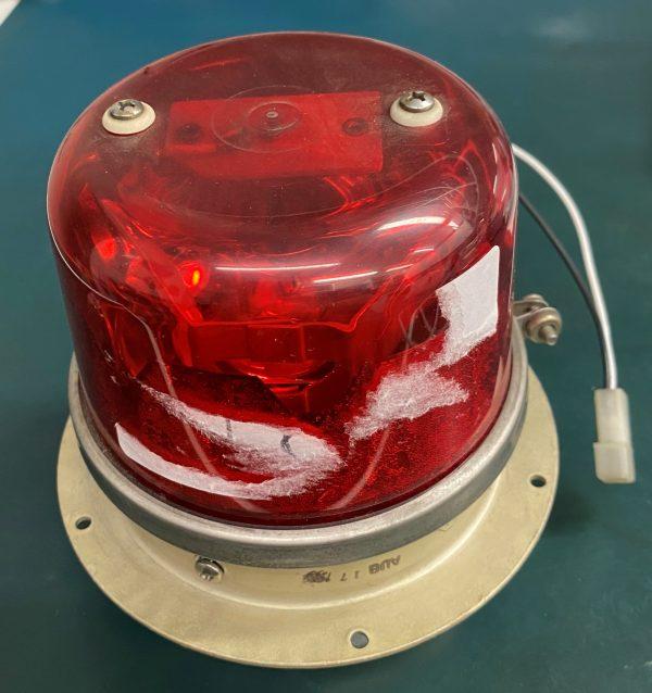 (Q11) Red Beacon, WRML28, 36-364036-3, Whelen Engineering