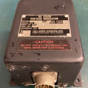 (Q14) DC Static Voltage Regulator, 51565-000, Lear Siegler Inc.