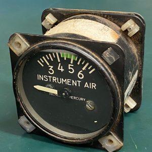 (Q15) Instrument Air Gauge, 115-384018-1, 1G8-34, Airbourne MFG. Co.