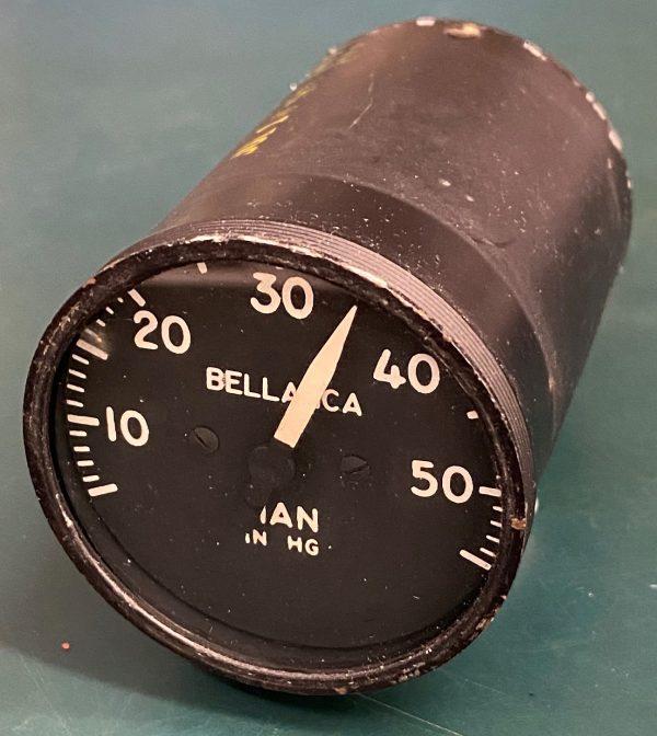 (Q1) Manifold Pressure, IFR70-40-2, Instruments & Flight Reasearch Inc