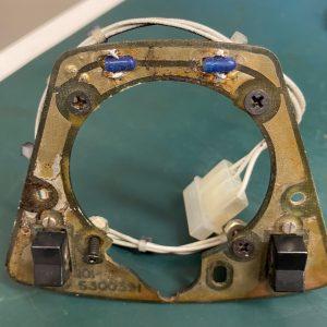 (Q11) Control Wheel Clock Backlighting, 101-5300391