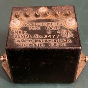(Q17) Accelerometer, GW.6, Graseby Instruments Inc.