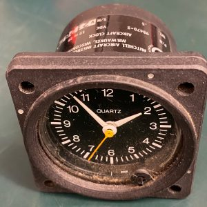 (Q15) Aircraft Clock, 98470-2, Mitchell