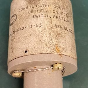 (Q19) Pressure Switch, 214C40-1-55, Consolidated Controls Corp.
