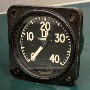 (Q15) Pressure Gauge, G6A/2693, GAF